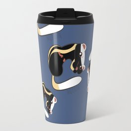 African Wildlife Poecilogale (African Weasel) Travel Mug