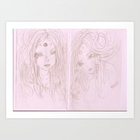 Gaia's Childern Art Print