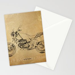 232-2019 R1250RS awesome motorcycle poster Stationery Cards