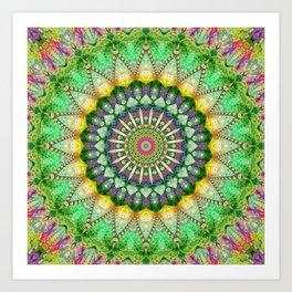 Mandala Patchwork 1 Art Print
