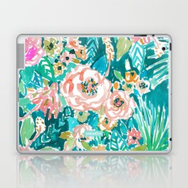 SUMMER IN MAUI Hibiscus Floral Laptop & iPad Skin
