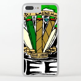 Blunts & Joints Clear iPhone Case
