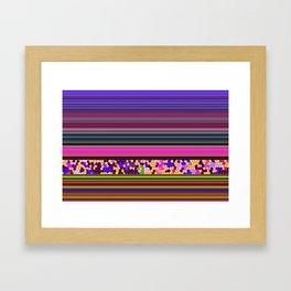 GRAPHIC POP Framed Art Print