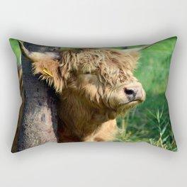 Galloway beef Rectangular Pillow