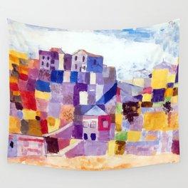 Paul Klee Sicily Wall Tapestry