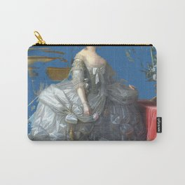marie antoinette tribute royal light blue Carry-All Pouch