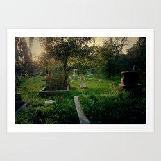 Nordhoff Cemetery Art Print