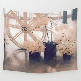 Coco No. 5 Floral Exhibit Wall Tapestry