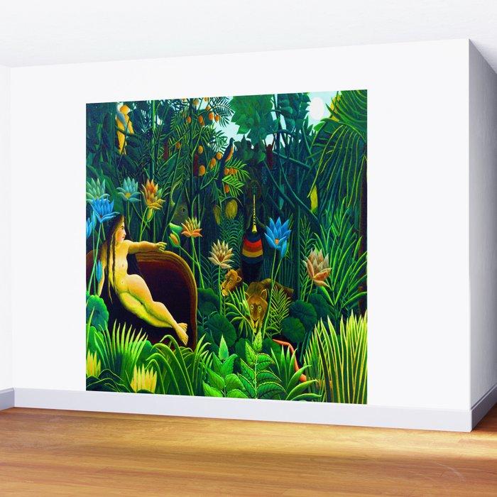 Henri Rousseau The Dream Wall Mural