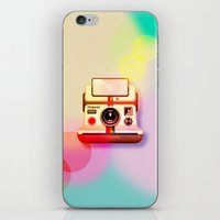 polaroid iPhone & iPod Skins featuring Polaroid by Tony Vazquez