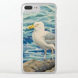 Gull Pair Clear iPhone Case