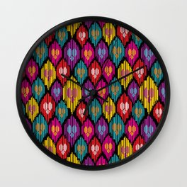 Uzbekistan Wall Clock
