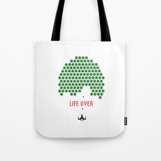 Life Over Tote Bag
