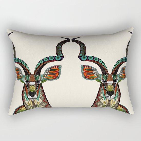 antelope ivory Rectangular Pillow