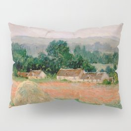 Haystack at Giverny Pillow Sham