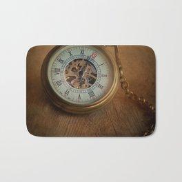 Time, time, time Bath Mat
