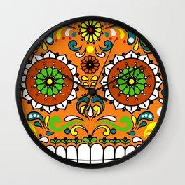 Sugar Skull #8 Wall Clock
