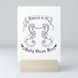 Salty Ocean Air Mini Art Print