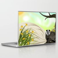 badger Laptop & iPad Skins featuring Badger by TailorMade:ART