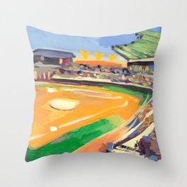 LSU Softball Throw Pillow
