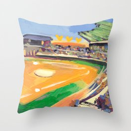 LSU Softball Throw Pillow