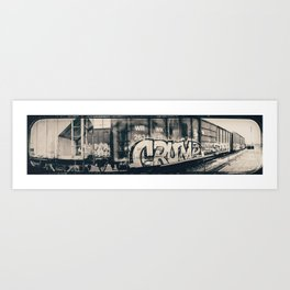 Going Crump Art Print