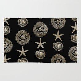 Seashell Pattern Rug