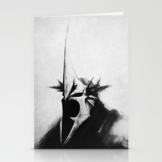WITCH-KING Stationery Cards