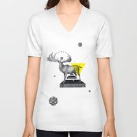 psychology V-neck T-shirts featuring Archetypes Series: Dignity by Attitude Creative