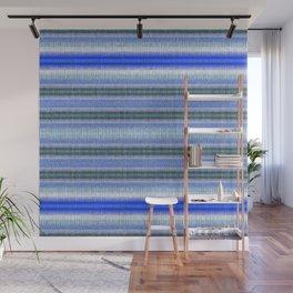 Woven Blue Wall Mural