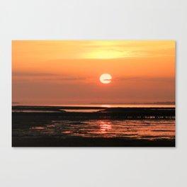 Feelings on the sea, Canvas Print