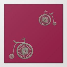 rose pink fushia Canvas Print