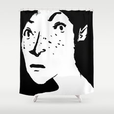 Women portrait Shower Curtain