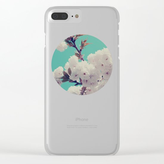 Spring Fever Clear iPhone Case