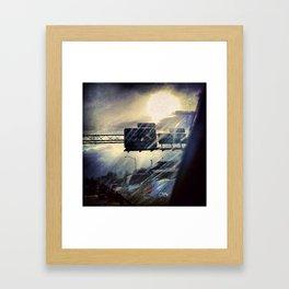 get-Mor-hed Framed Art Print