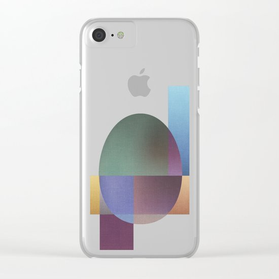 NO WAY OUT (abstract) Clear iPhone Case