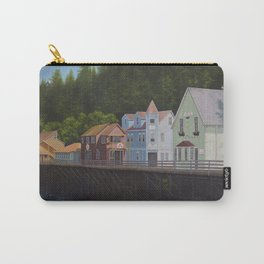 Ketchikan's Creek Street Carry-All Pouch