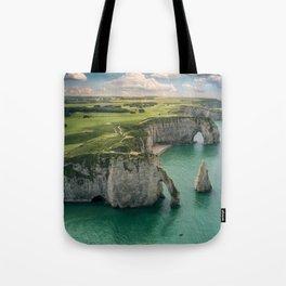 Elephant cliffs Tote Bag