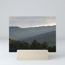 Last Light (Santa Teresa State Park) Mini Art Print