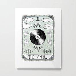 The Vinyl Metal Print