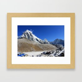 Mount Pumori Framed Art Print
