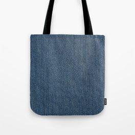 Blue Denim Texture Tote Bag
