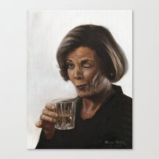 Arrested Development Lucille Bluth Canvas Print