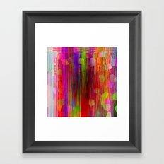 Color Me Happy Framed Art Print