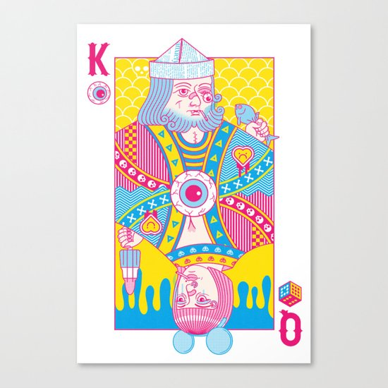King Of Nothing, Queen Of Nowhere Canvas Print