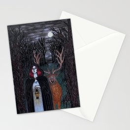 Magic Witch Stationery Cards