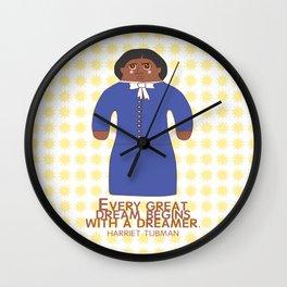 Harriet Tubman Wall Clock