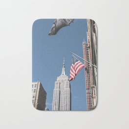 Empire State Building Photography Bath Mat