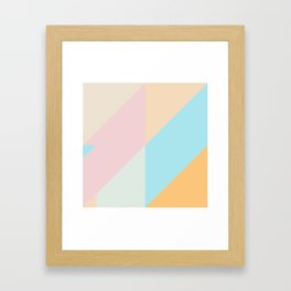 Geometric Pattern VI Framed Art Print