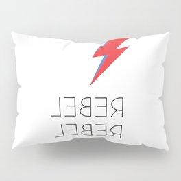 David Rebel Rebel Rock Music Aladdin Sane Bolt Glam Rock Music Pillow Sham